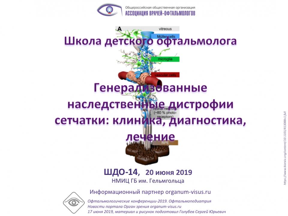 Школа детского офтальмолога ШДО 14 Москва Россия