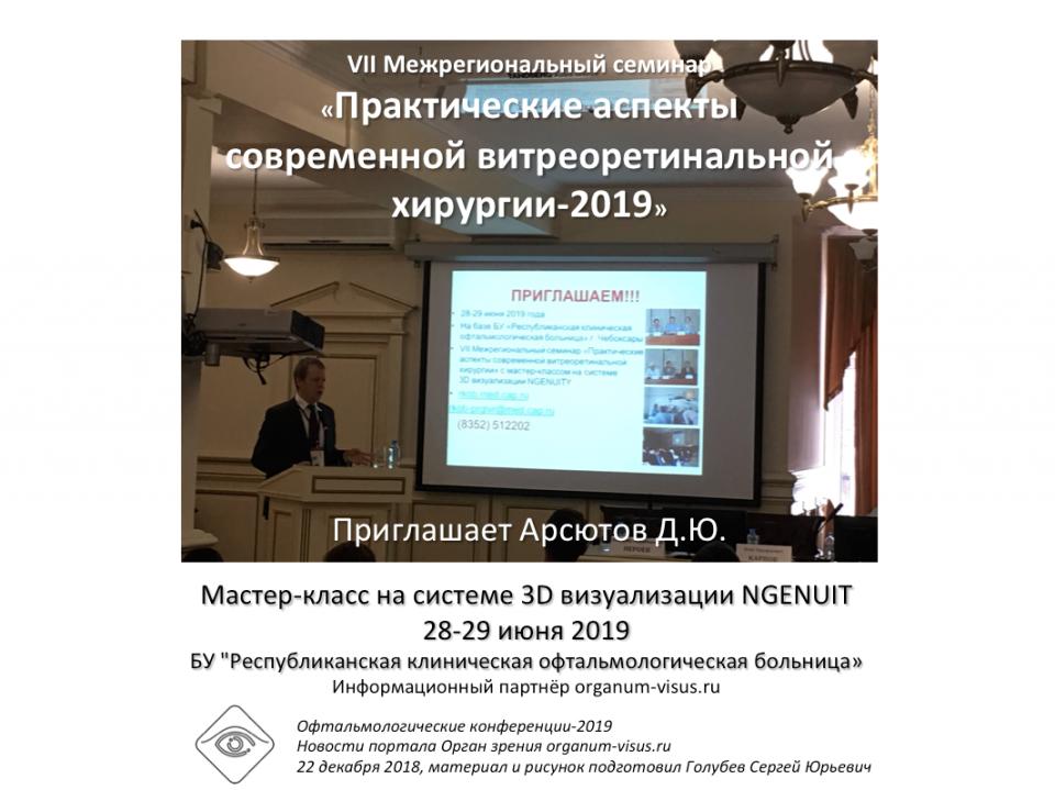 Офтальмология России 3D визуализации NGENUITY Чебоксары