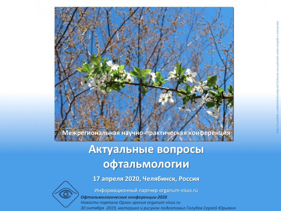 Конференция офтальмологов в Челябинске