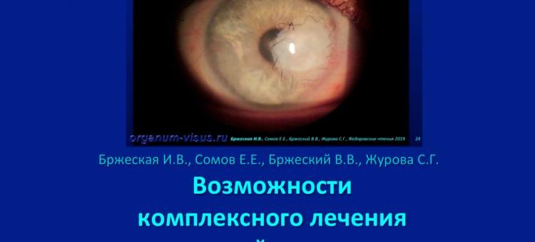 Сухой глаз Язва роговицы Бржеский В.В. с соавт