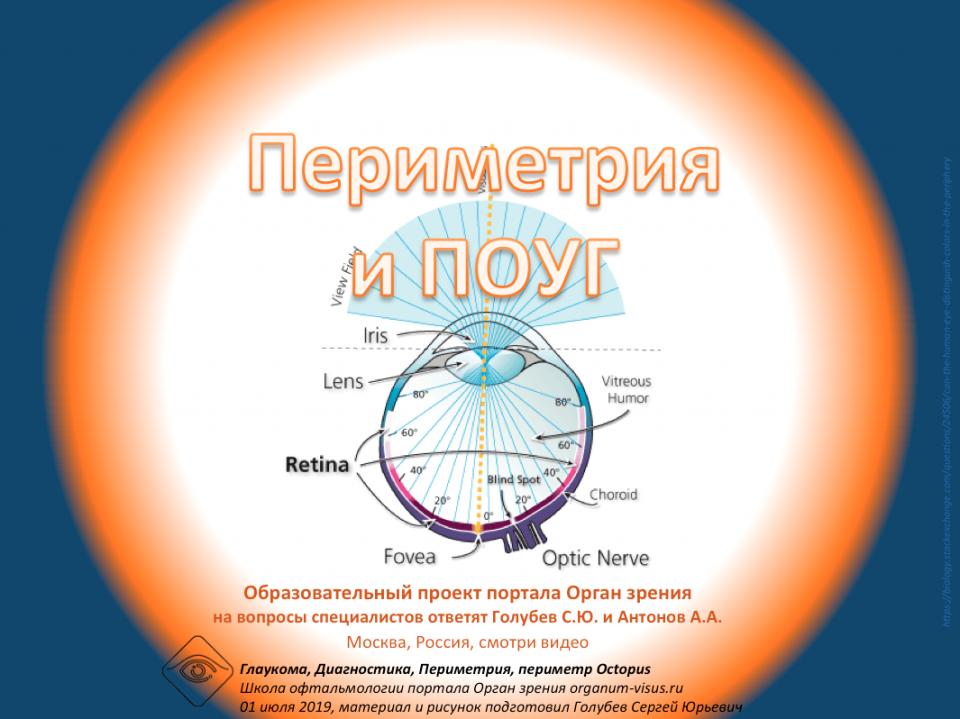 Глаукома Периметрия и ПОУГ Ответы на вопросы