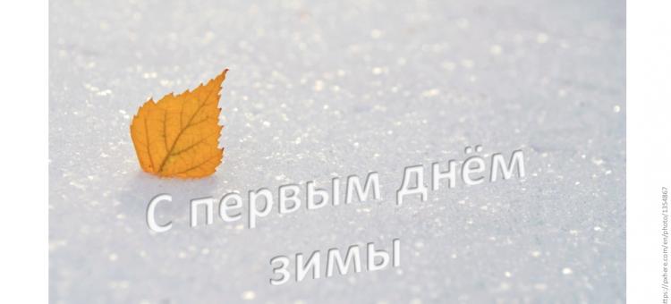 Портал Орган зрения С Первым днём Зимы