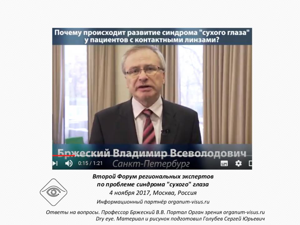 Рестасис Ответы на вопросы профессор Владимир Бржеский