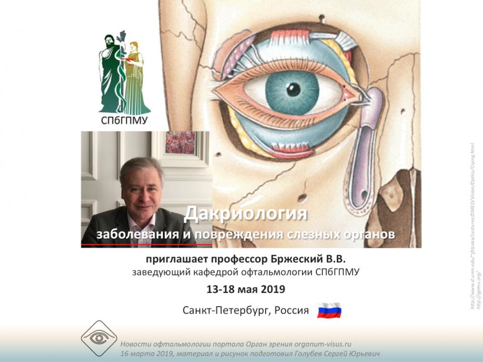 Учеба по офтальмологии Дакриология