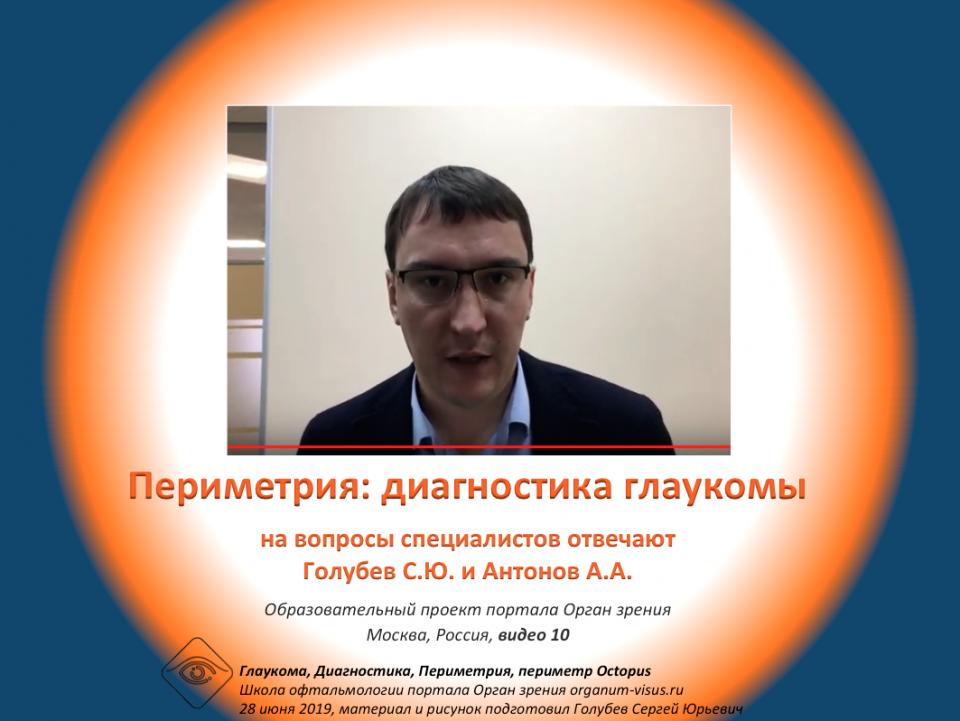 Диагностика глаукомы Периметрия Методика Видео