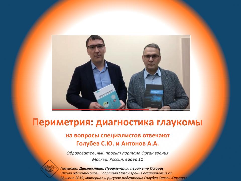 Диагностика глаукомы Периметрия Анонс книг Видео
