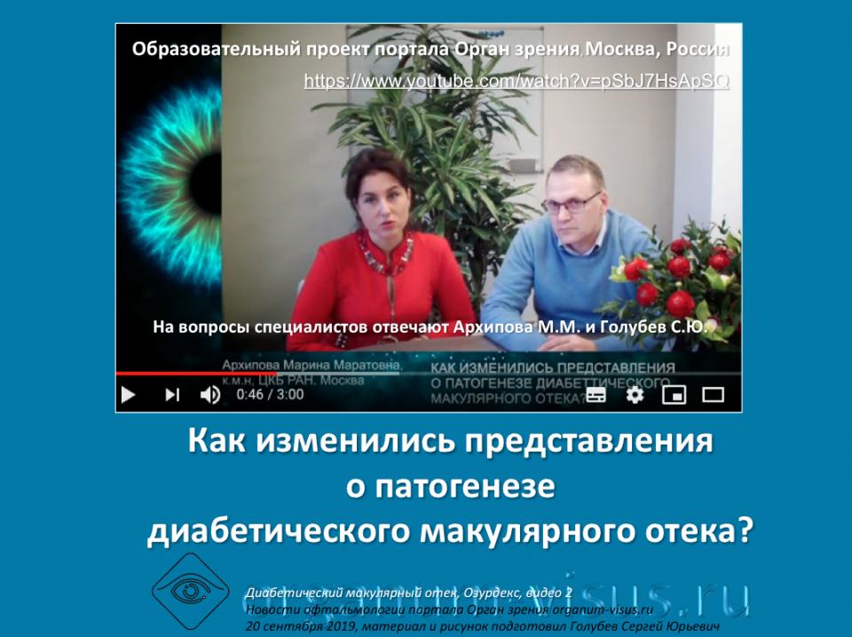 Диабет и Глаз Лечение ДМО Ответы на вопросы врачей Видео 2
