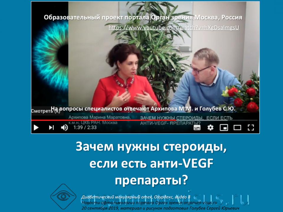 Диабет и Глаз Лечение ДМО Ответы на вопросы врачей Видео 8