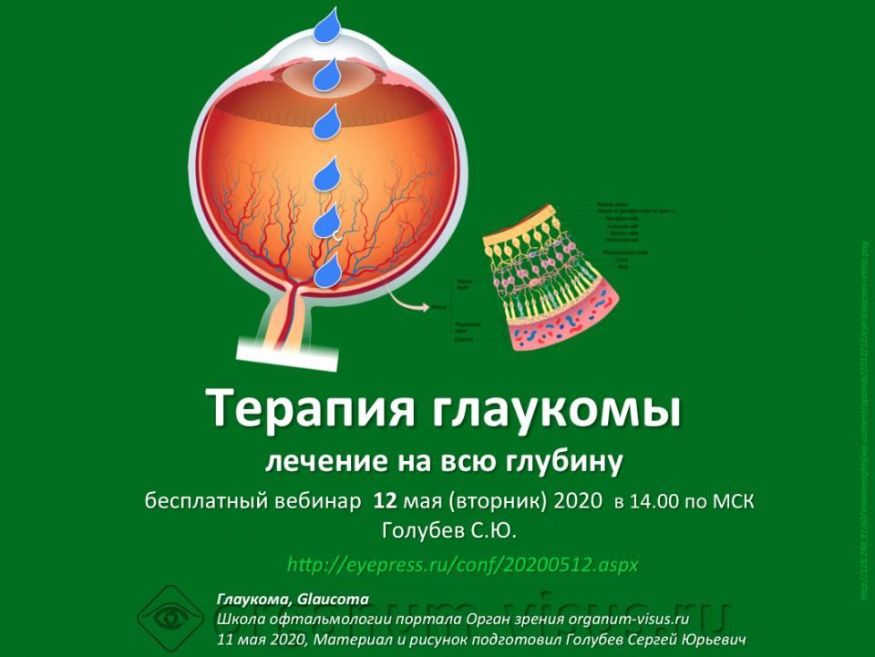 Терапия глаукомы Лечение на всю глубину Вебинар
