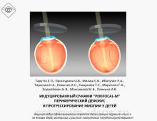 Контроль миопии Перифокал-М Тарутта Е.П. с соавт.