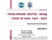 Журнал Точка зрения Восток-Запад