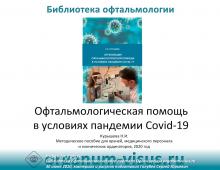 Офтальмологическая помощь и Covid 19