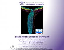 Глаукома Заседание Экспертного совета АВО в Москве