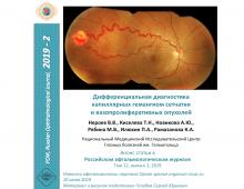 Капиллярная гемангиома сетчатки Дифференциальный диагноз