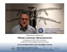 Кафедре офтальмологии ВМедА исполняется 200 лет