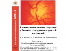 Глаукома и сердечно-сосудистая патология
