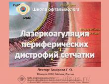 Телемедицина в офтальмологии НМИЦ ГБ им Гельмгольца Сетчатка