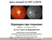 ОКТА 2020 ОКТ ангиография Лекция 7
